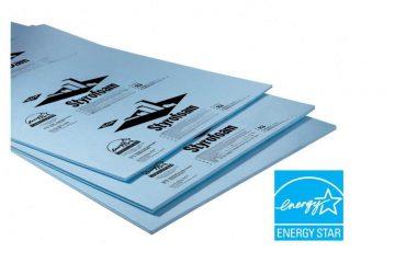 Dow Styrofoam glavas aluminium pvc systems