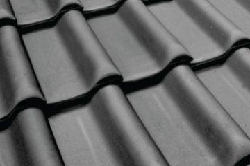 Ολλανδικό Κεραμίδι Ανθρακί glavas aluminium pvc systems