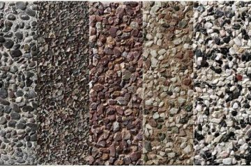 Βοτσαλόπλακες Πεζοδρομίου glavas aluminium pvc systems